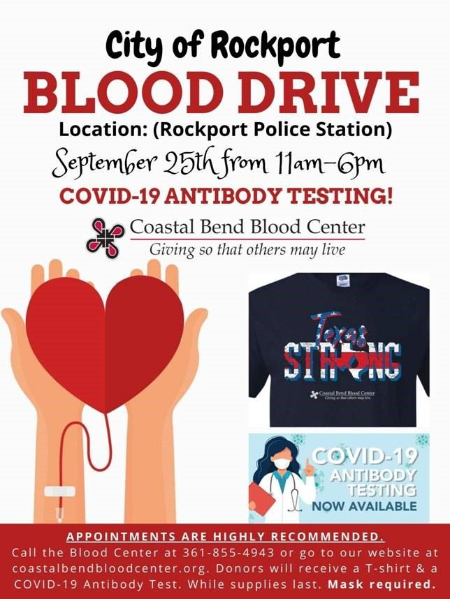 September blood drive